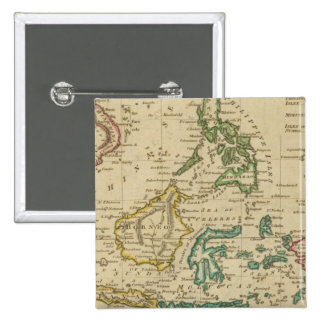 Islands of the East Indies Pinback Button