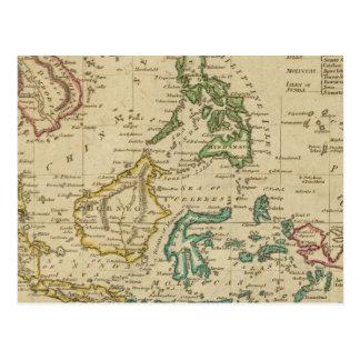 Islands of the East Indies Postcard