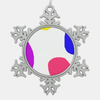 Islands Snowflake Pewter Christmas Ornament