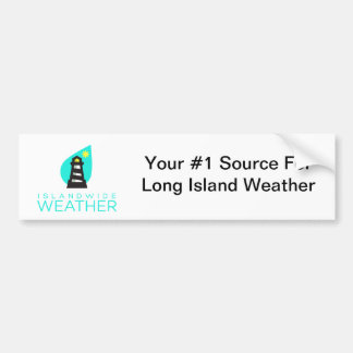 Islandwide Weather Bumper Sticker