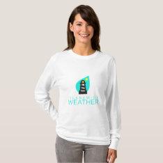 Islandwide Weather Women's Long Sleeve Shirt at Zazzle