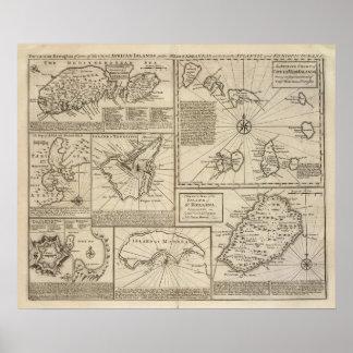 Islas africanas poster