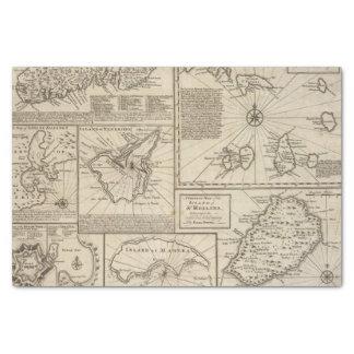 Islas africanas papel de seda pequeño