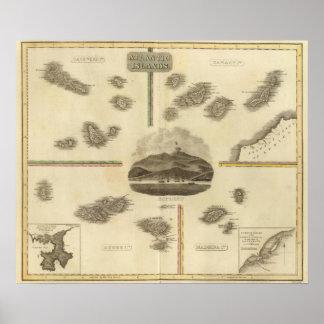 Islas atlánticas poster