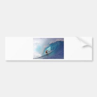 Islas azules grandes de Mentawai de la onda que pr Pegatina Para Auto