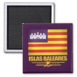 Islas Baleares (Balearic Island) Imán Cuadrado