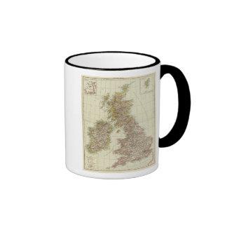 Islas británicas 10 taza de dos colores
