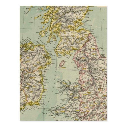 Islas británicas 11 postal