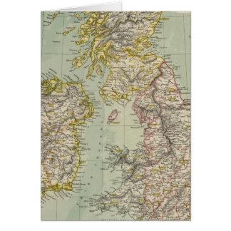 Islas británicas 11 tarjeta de felicitación