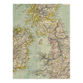 Islas británicas 11 tarjeta postal