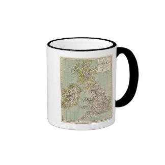 Islas británicas 11 taza de dos colores