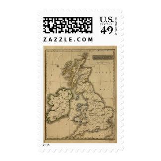 Islas británicas 2 sellos postales