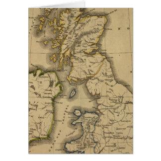Islas británicas 2 tarjeta de felicitación