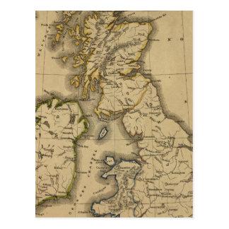 Islas británicas 2 tarjeta postal