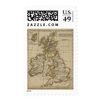 Islas británicas 3 franqueo