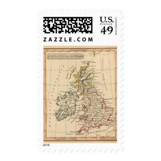 Islas británicas 3 sello