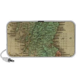 Islas británicas 4 notebook altavoces