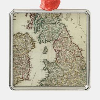 Islas británicas 4 ornamentos para reyes magos