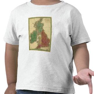 Islas británicas 4 camiseta