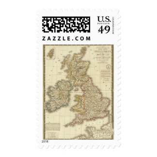 Islas británicas 4 sello