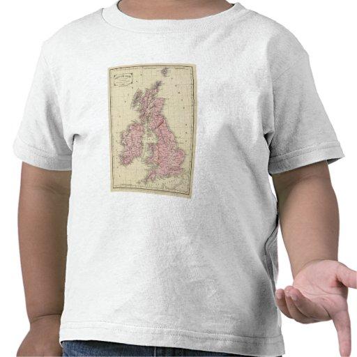 Islas británicas 5 camiseta