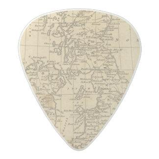 Islas británicas 5 púa de guitarra acetal