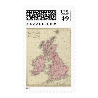 Islas británicas 5 sello