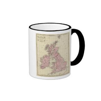 Islas británicas 5 taza de dos colores