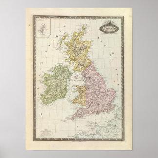 Islas británicas 6 póster