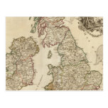 Islas británicas 9 tarjeta postal