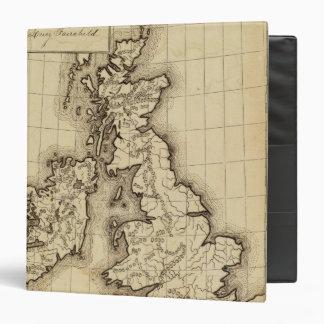 "Islas británicas carpeta 1 1/2"""