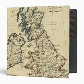 """Islas británicas con los límites resumidos carpeta 1 1/2"""""""
