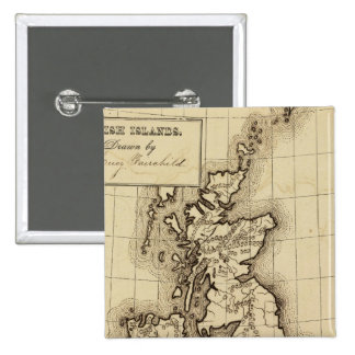 Islas británicas pins