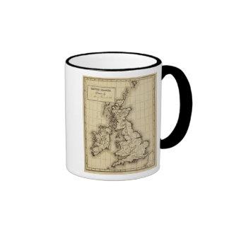 Islas británicas taza de dos colores