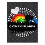 Islas Caimán con sabor a fruta lindas Tarjetas Postales