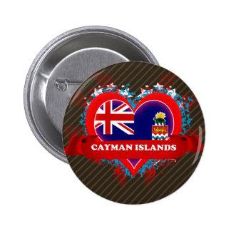 Islas Caimán del amor del vintage I Pin