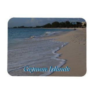Islas Caimán playa de siete millas Imanes De Vinilo