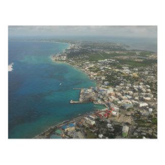Islas Caimán playa de siete millas Postal