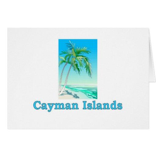 Islas Caimán Tarjeta De Felicitación