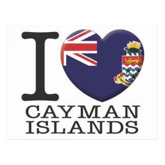 Islas Caimán Tarjeta Postal