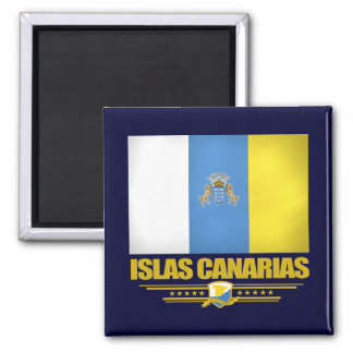 Islas Canarias (Canary Islands) 2 Inch Square Magnet
