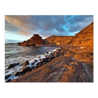 Islas Canarias de la costa de Lanzarote Tarjetas Postales