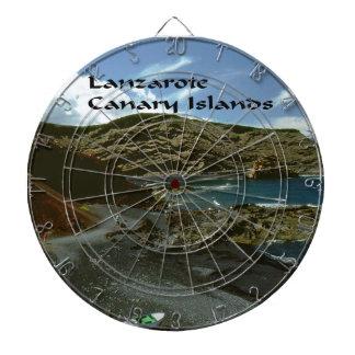 Islas Canarias de Lanzarote Tablero De Dardos