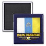 Islas Canarias (islas Canarias) Imán Cuadrado