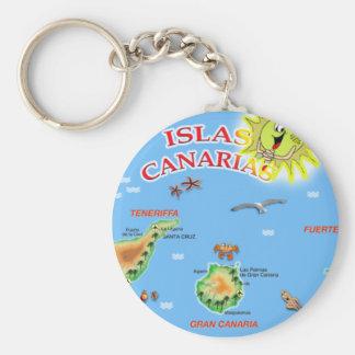 Islas Canarias Keychain