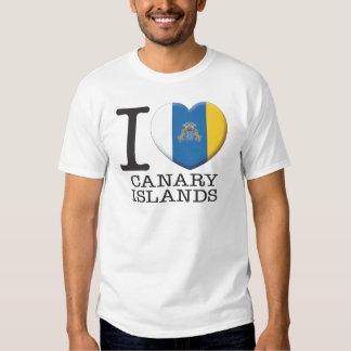 Islas Canarias Remeras