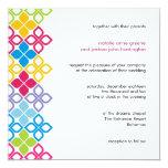 Islas caribeñas que casan la tarjeta de la invitación 13,3 cm x 13,3cm