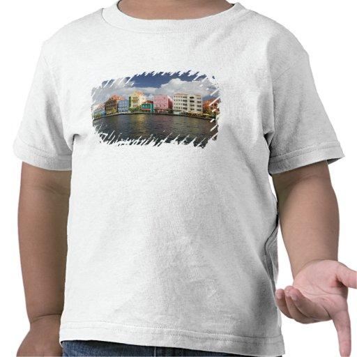 Islas de ABC, CURAÇAO, Willemstad: Harborfront Camiseta