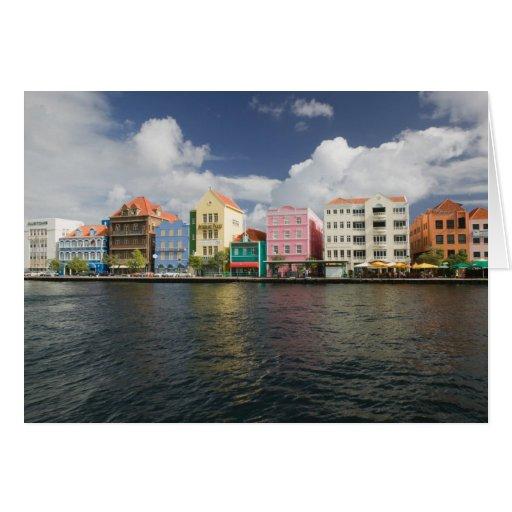 Islas de ABC, CURAÇAO, Willemstad: Harborfront Felicitacion