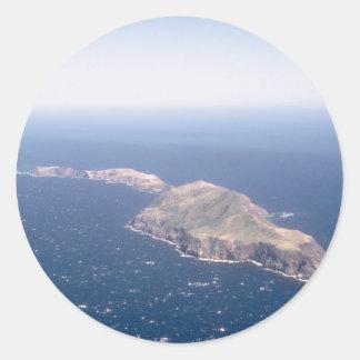 Islas de Anacapa Pegatinas Redondas